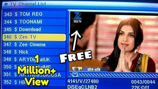 Doller Nishan Chanal Dekho Free dish Pe Bina Recharge Ke, Asiasat New Chanal List Tech