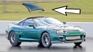 1500hp Supra BLOWS It's ROOF Off!!