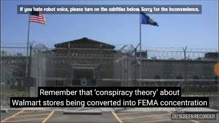 Current Event - Fema camp in texas holds 1,000