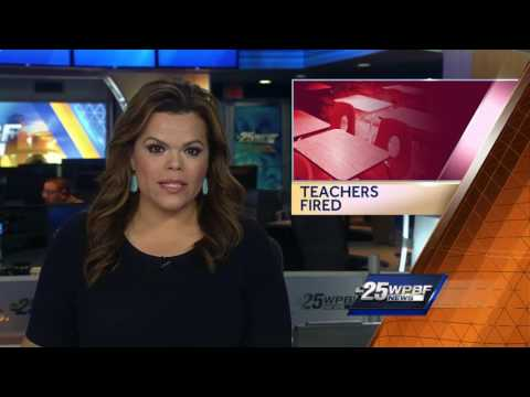 Teachers accused of having sex at school fired