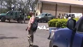 The convoy of Okalia Bilai attacked in Lebialem by some unidentified gun men supposedly