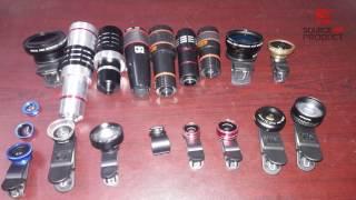 23 types of Mobile Lens Macro, Wide, FishEye, Blur, telescope [Bangla]- Source Of Product