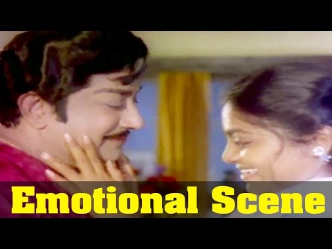 Iru Medhaigal Movie : Saritha, Emotional by Sivaji Ganesan