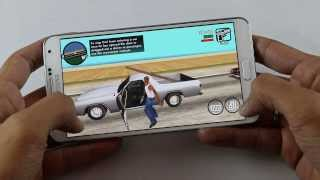 GTA San Andreas Gameplay on Android (Galaxy Note 3)