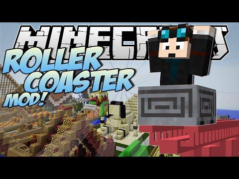 Xxx Mp4 Minecraft ROLLERCOASTER MOD Become A Rollercoaster Tycoon Mod Showcase 3gp Sex