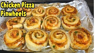 Chicken Pizza Pinwheels Recipe By Yasmin