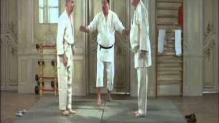 Louis de Funes practicing martial arts: JUDO (2 of 2)