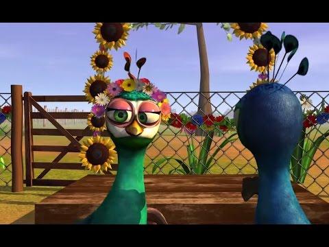 El pavo y la pava HD Canciones de la Granja de Zenón 1