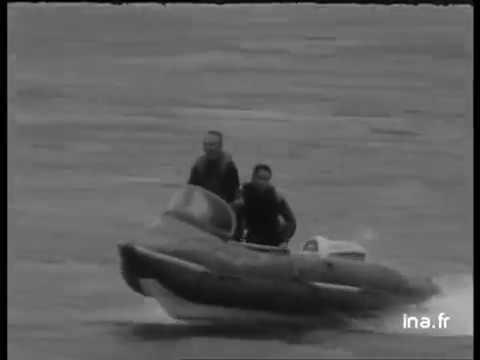 Franchissement de la barre d ETEL 1967 Georges Hennebutte et son Espadon PNEUBOAT