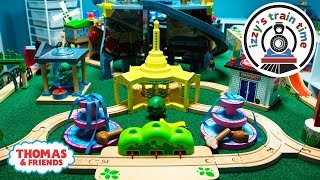 Thomas and Friends   Mommy Solo Thomas Track Challenge! Fun Toy Trains for Kids