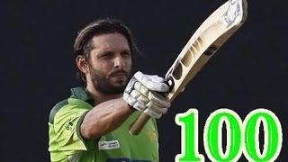 Shahid Afridi 100 runs off 37 Balls Fastest Century in ODI