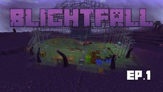 Let's Play Blightfall Modpack! Modded Minecraft Adventure [1]