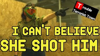 I Can't Believe She Shot Him | Trouble in Terrorist Town (ASG CZ- P01 Shadow Gas Pistol)