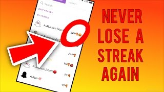 How to NEVER Lose a Snapchat Streak AGAIN!!! (Snapchat Tips & Tricks)