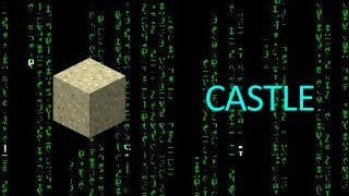 How to Build a Cool Minecraft Sandcastle