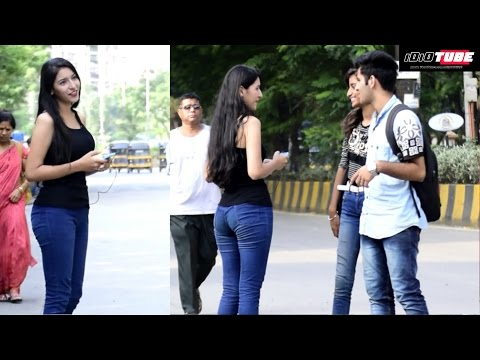 Hot Girl Calling Boys Baby (Jaanu) Prank - iDiOTUBE | Pranks In India