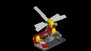 Dragonfly Lego Wedo - Zapatero / Libélula (Montaje)