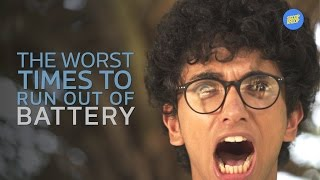 ScoopWhoop: The Worst Times To Run Out Of Battery