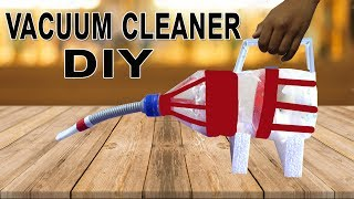 How to Make a Vacuum Cleaner Using Bottle-Home Made |Hacks N Drills|