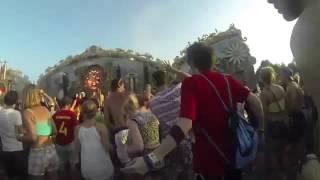ELRUBIUS bailando en el Tomorrowland 2014
