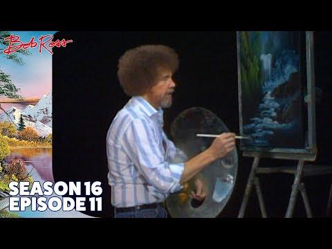 Bob Ross Waterfall Wonder Season 16 Episode 11