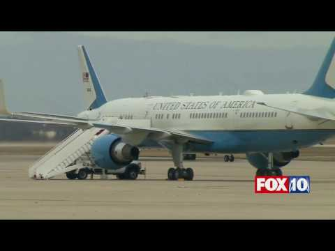 FULL COVERAGE Trump Lands in D.C. on Official White House Plane for Inauguration