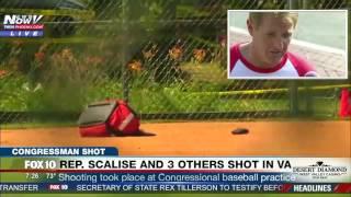 REP. SCALISE SHOT: Sen. Jeff Flake Describes Virginia Shooting at Congressional Baseball Field (FNN)