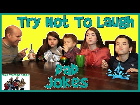 Try Not To Laugh With Dad Jokes!  That YouTub3 Family