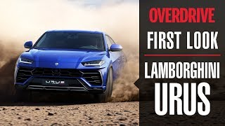 Lamborghini Urus in India first look | OVERDRIVE