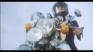 Janet Agren as the Leather Biker Girl