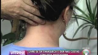 Faça massagem para aliviar enxaqueca e dores nas costas  (09/01)
