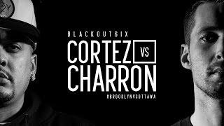 KOTD - Rap Battle - Cortez vs Charron | #BO6ix