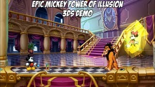 Disney's Epic Mickey - Power of Illusion 3DS Demo