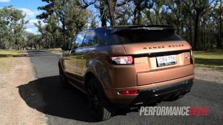 2014 Range Rover Evoque Si4 (9-speed) 0-100km/h & engine sound