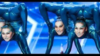 Engara Contortion: Otherworldly Russian Girls WOW's BGT | Auditions 4 | Britain's Got Talent 2017