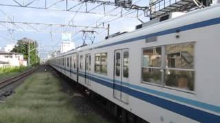 【爆走!】東武8000系8181F=8560F鶴瀬駅高速通過!