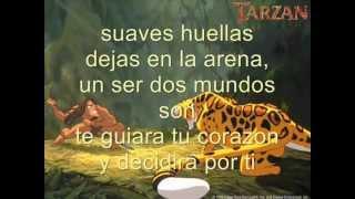 Tarzan-Dos Mundos Letra
