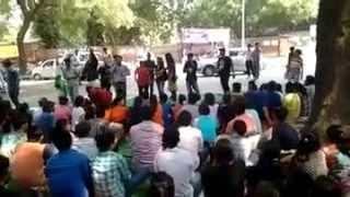 FDDI Degree Protests Jantar Mantar Delhi