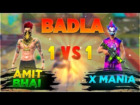 Amitbhai Vs Xmania 1 vs 1 Clash Squad in Free Fire Desi Gamers