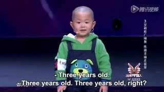 Aksi Bocah 3 Tahun yang memukau Jet Lee