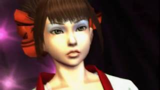 PCSX2 PS2 Rumble Roses Normal Match(The Balck Belt Demon) Game Play - 플스2 럼블 로즈 일반 매치 게임 플레이