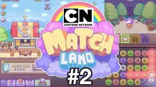 Cartoon Network Matchland | Game Walkthrough #2 | PLAY NOW!