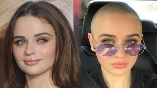 Joey King SHAVES HEAD for New Role
