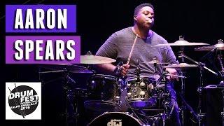 Aaron Spears - 2016 Drum Festival International Ralph Angelillo