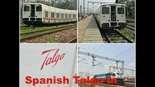 Exclusive Coverage of Spanish Talgo Train trials on Indian Railways Fastest Section