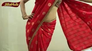 How To Wear Indian Wedding Cocktail Party Saree To Look Hot|Indian Sari Draping|Jiilahub