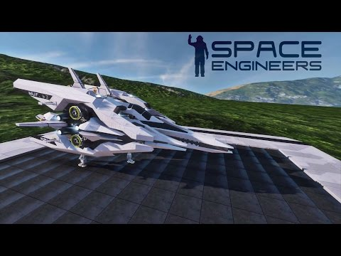 space engineers how to build a small ship