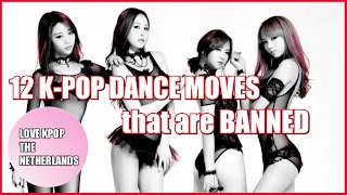 12 K-POP Dance Moves That Are BANNED By The Korean Government [Part 1]