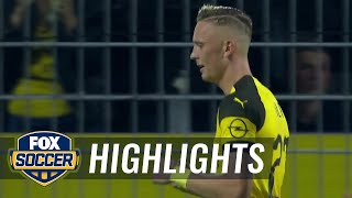 Marius Wolf scores against his former club to give Dortmund the lead | 2018-19 Bundesliga Highlights