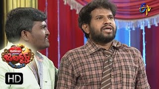 Hyper Aadi Raising Raju Performance | Jabardsth |  16th March 2017| ETV  Telugu